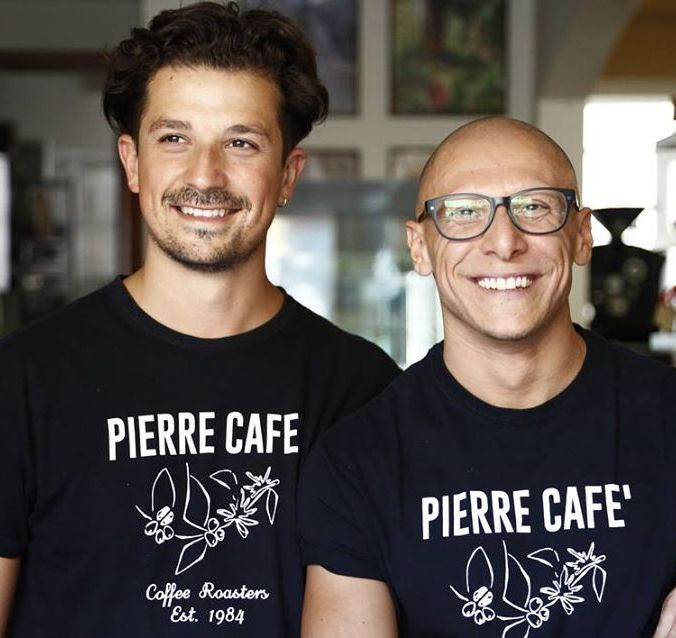The Pierre Cafè Brothers: Lugi & Vicenzo